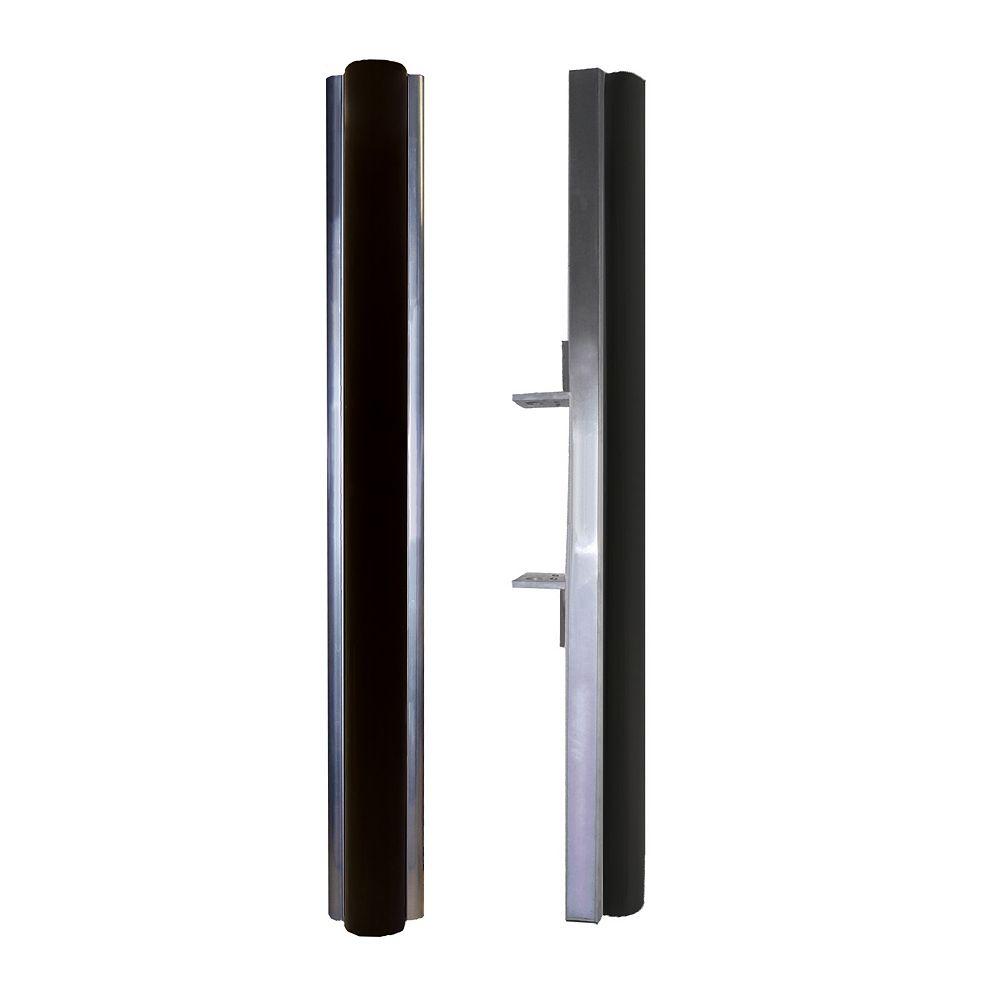 Multinautic Adjustable Black Vertical Dock Bumpers