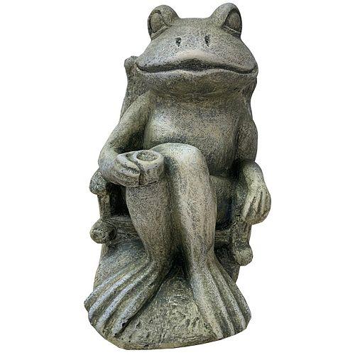 Angelo Décor Muskoka Frog Statue