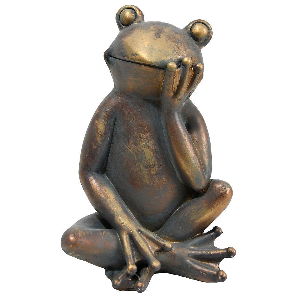 Angelo Décor Pondering Frog Statue