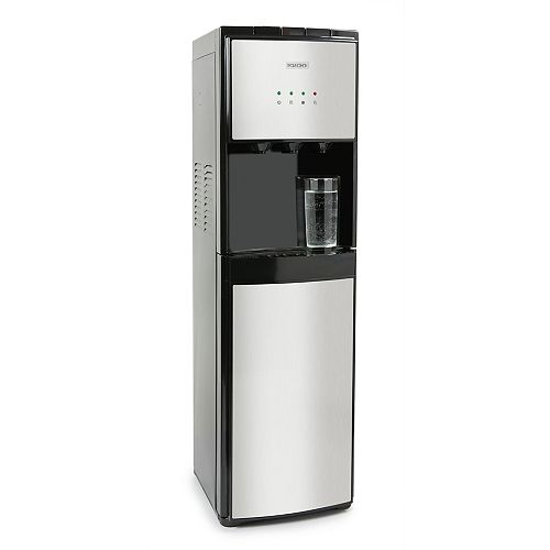 Distributeur d'eau à chargement par le bas Igloo en acier inoxydable