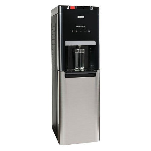 Igloo Distributeur d'eau autonettoyant à chargement par le bas acier inoxydable trois températures