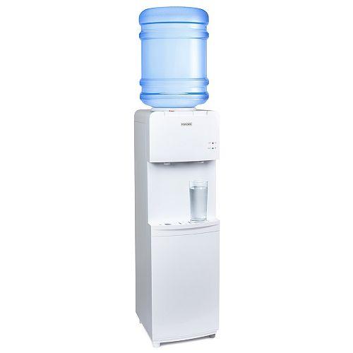 Igloo Distributeur d'eau à chargement par le haut chaud et froid, blanc