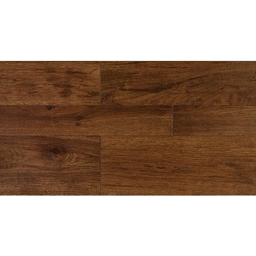 Cassonade 1/2-inch x 5-inch x R/L Click Engineered Hickory Flooring (25.83 sq. ft./case) Sample