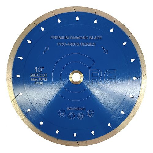 Core Diamond Abrasives 7 Porcelain and Ultra Compact Slab Monarch Series Diamond Blade