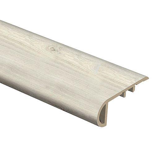 Wickford Oak .75 inch x 2.125 inch x 94 inch Vinyl Stair Nose Molding
