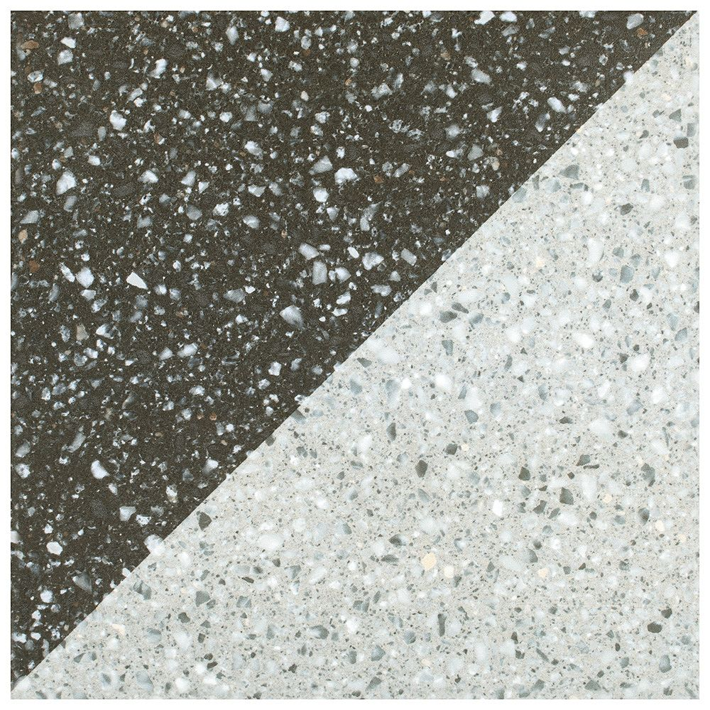 Merola Tile Carreau mural et de sol Arive Decor Frio, 7 7/8 po x 7 7/8 po, céramique, 11,29 pi2/bte