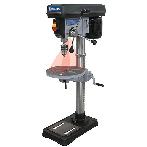 13 inch Bench Drill Press with Duel Laser