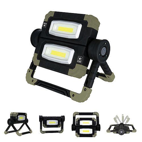Folding Dual LED Work Light