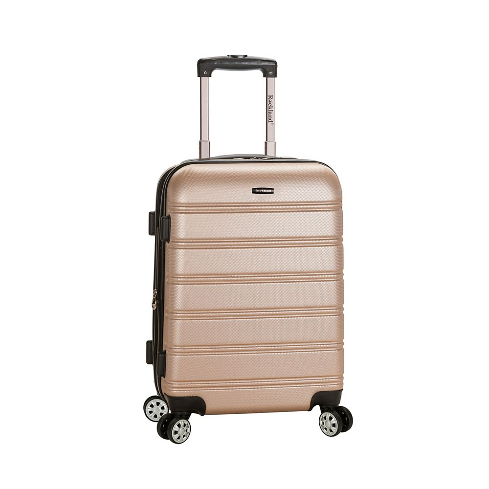 Rockland Melbourne 20 in. Hardside Carry-on, Champagne