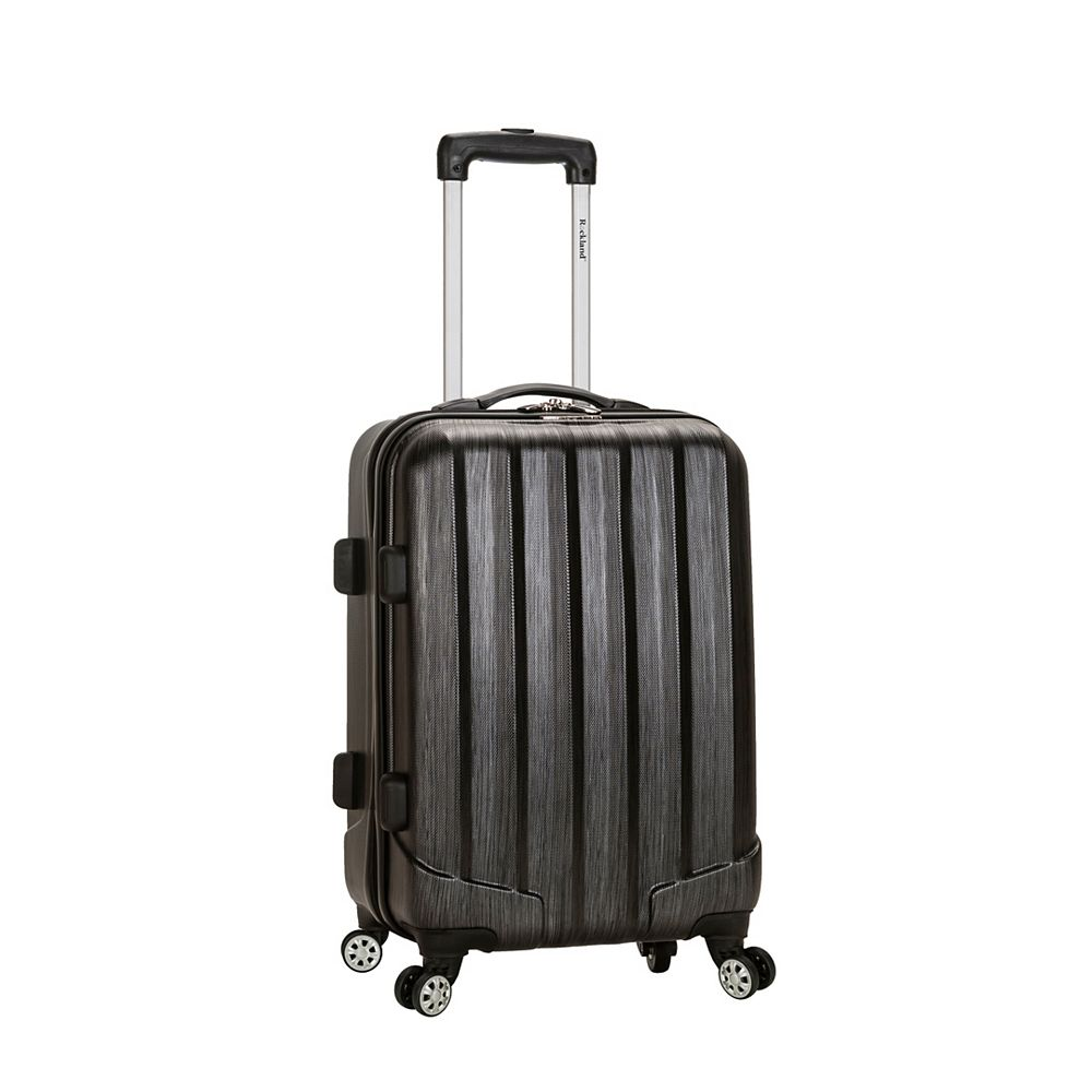Rockland Melbourne 20 in. Hardside Carry-on, Metallic