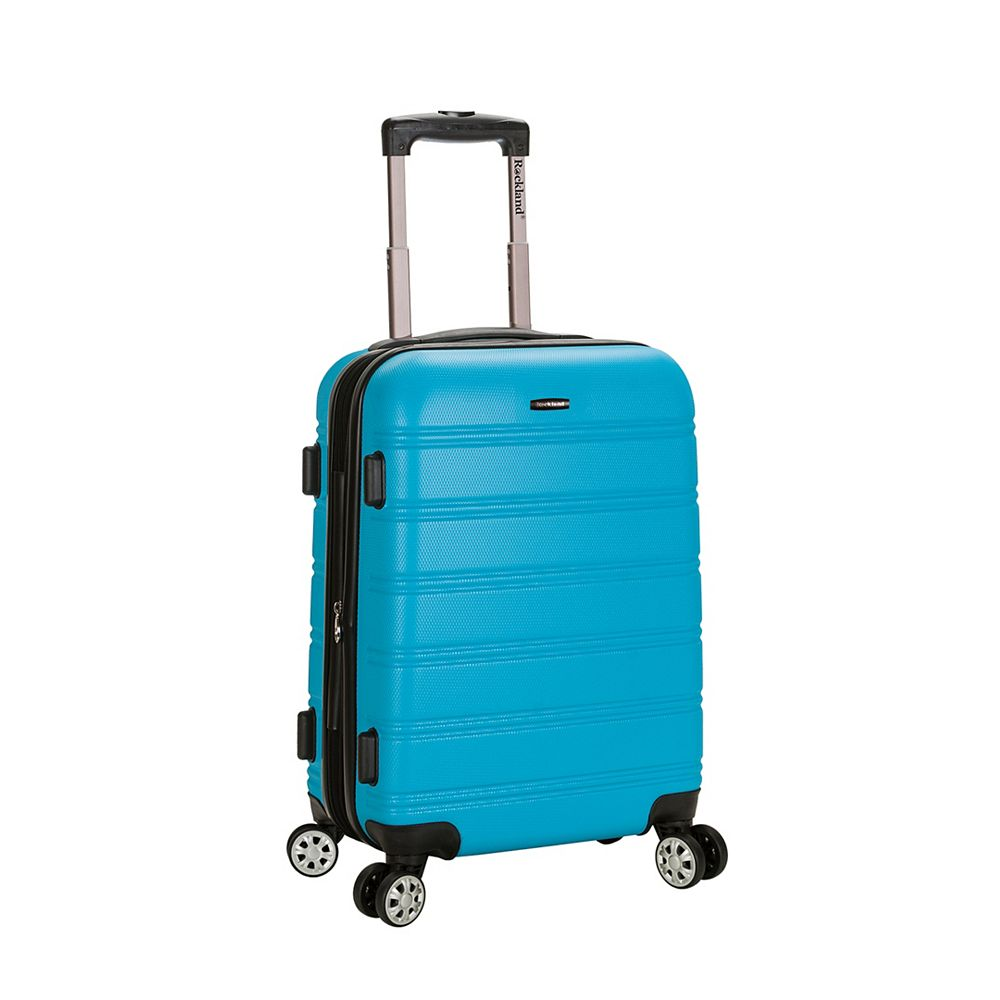 Rockland Melbourne 20 in. Hardside Carry-on, Turquoise