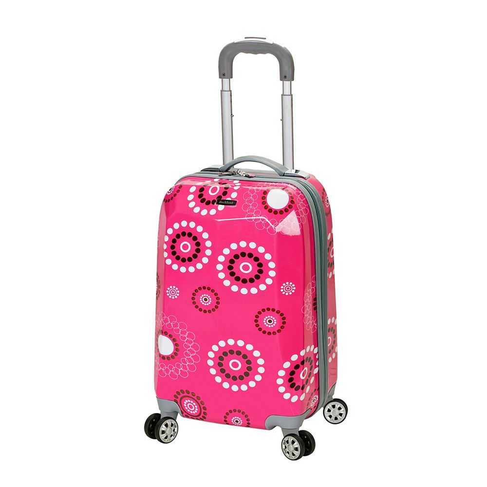Rockland Vison 20 in.  Hardside Carry-on, Pinkpearl