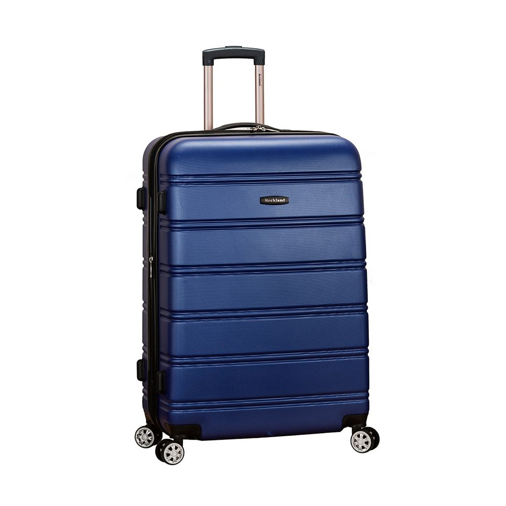 Rockland Melbourne 28 in. Hardside Luggage, Blue