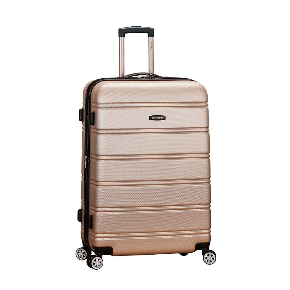Rockland Melbourne 28 in. Hardside Luggage, Champagne