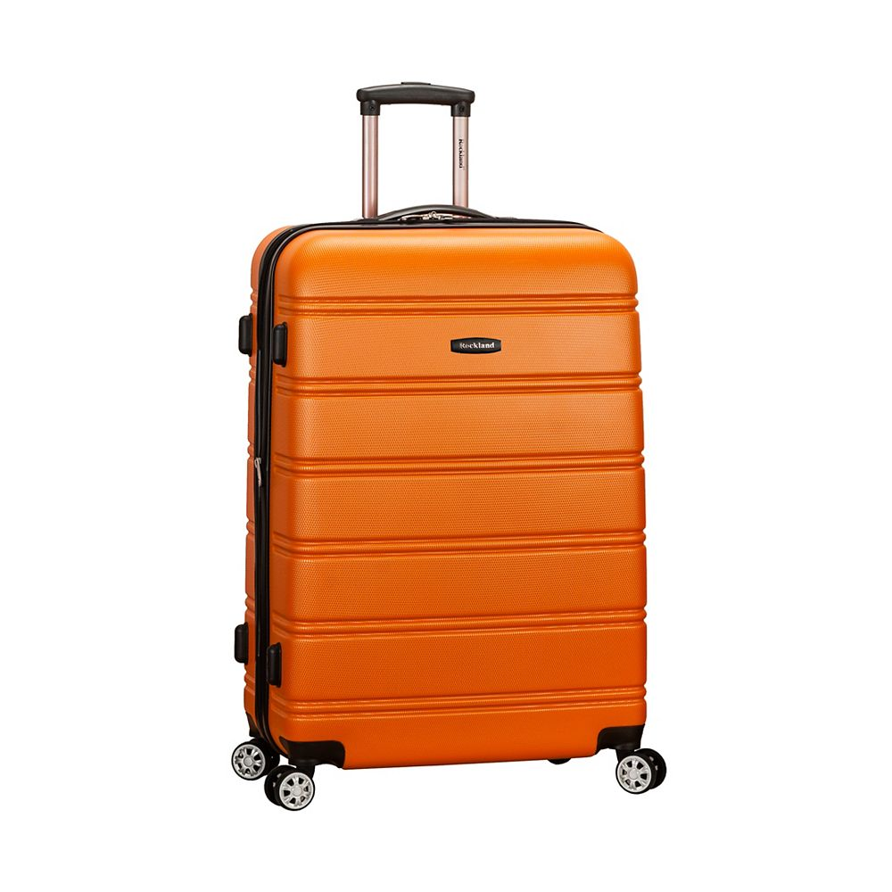 Rockland Melbourne 28 in. Hardside Luggage, Orange