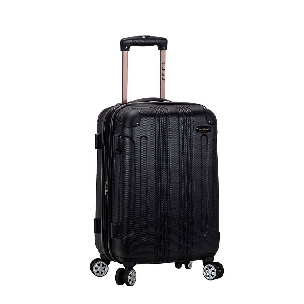 Rockland Sonic 20 in. Hardside Carry-on, Black