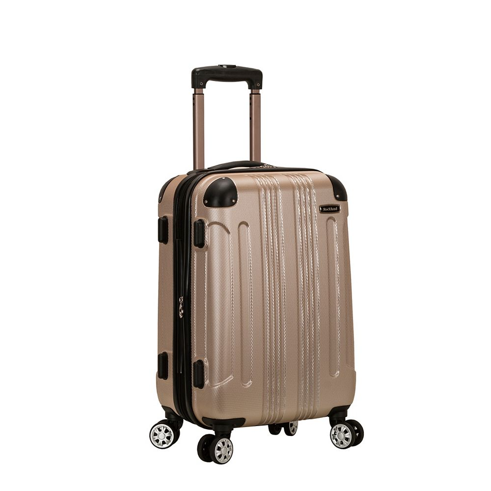 Rockland Sonic 20 in. Hardside Carry-on, Champagne