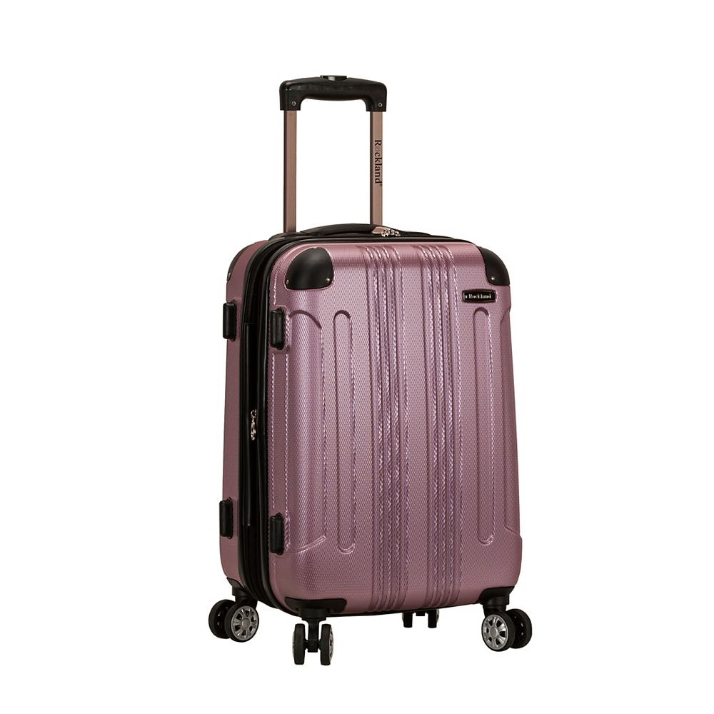 Rockland Sonic 20 in. Hardside Carry-on, Pink