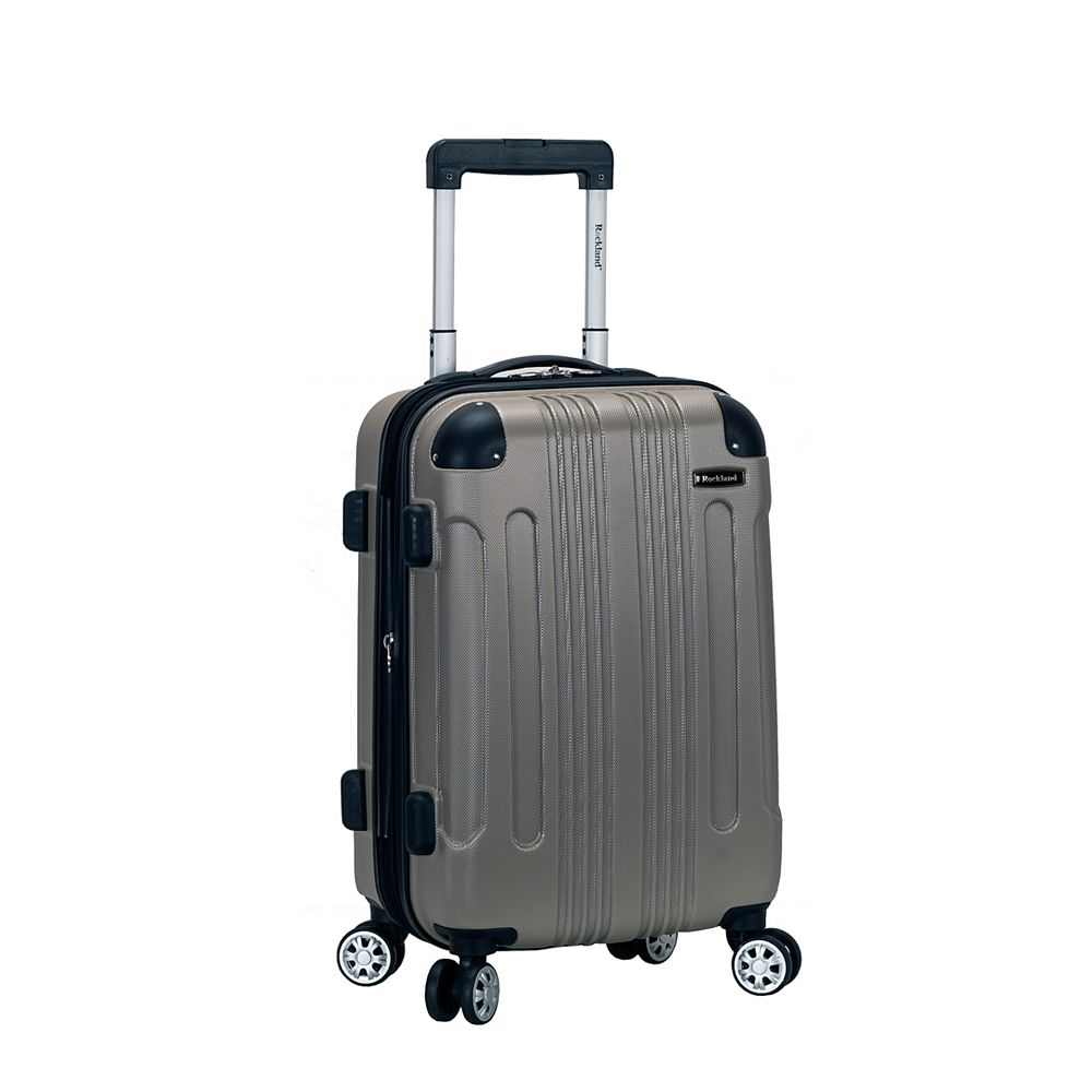 Rockland Sonic 20 in. Hardside Carry-on, Silver