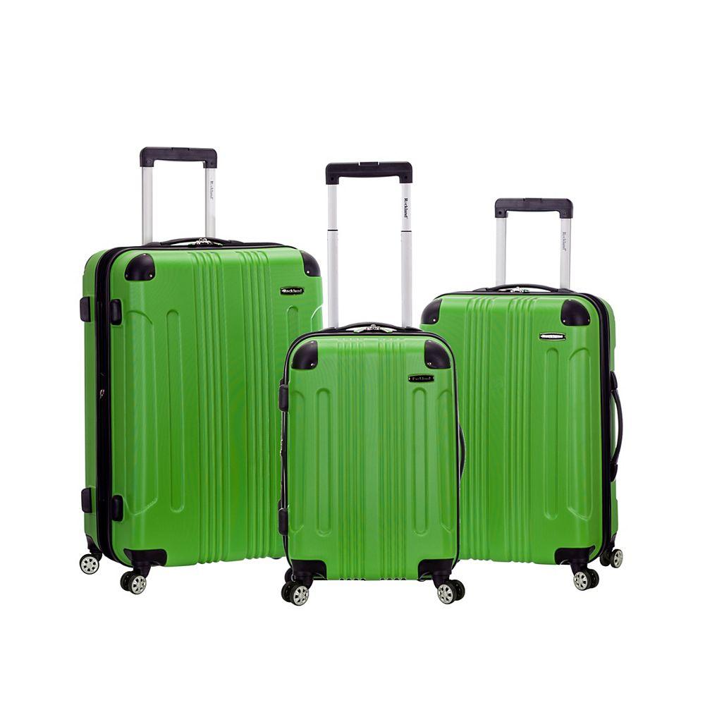 Rockland Sonic Hardside Luggage Set, Green
