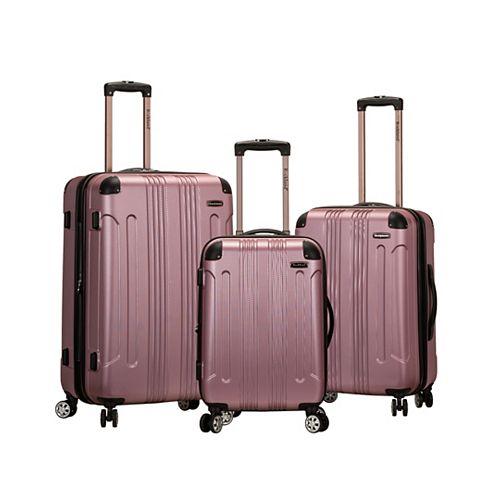 Sonic Hardside Luggage Set, Pink
