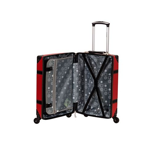 Stage Coach 20 in. Rolling Trunk, red