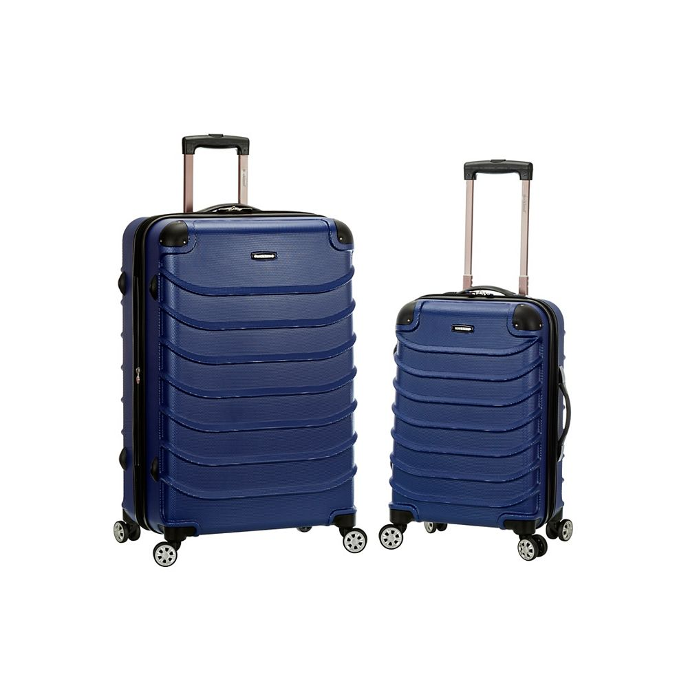 Rockland Expandable Speciale 2-Piece Hardside Spinner Set, Blue