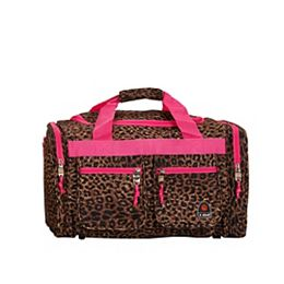 Freestyle 19 in. Tote Bag, Pinkleopard