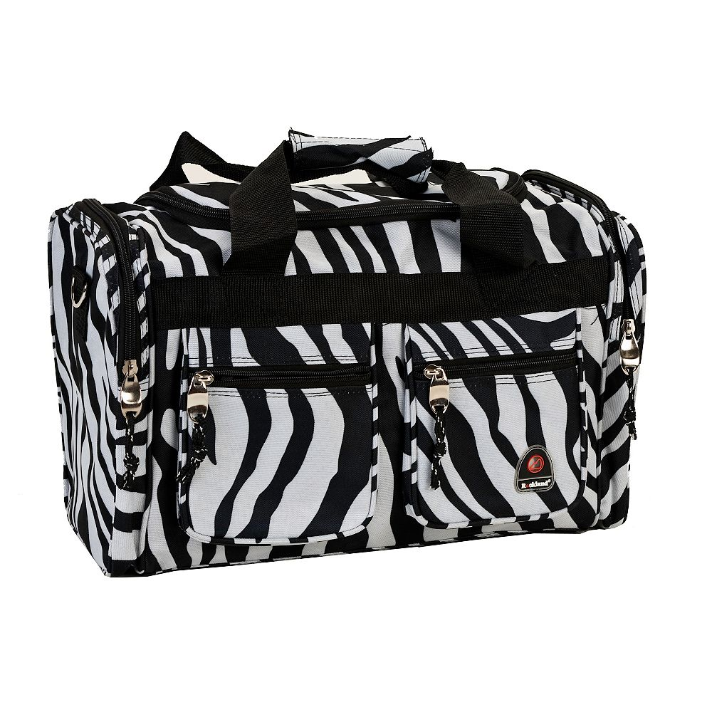 Rockland Freestyle 19 in. Tote Bag, Zebra