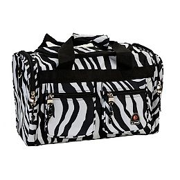 Freestyle 19 in. Tote Bag, Zebra