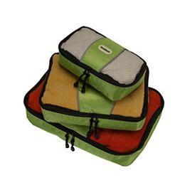 Ensemble de 3 cubes d'emballage, citron vert