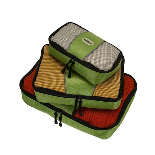 Packing Cube Set Of 3, Lime