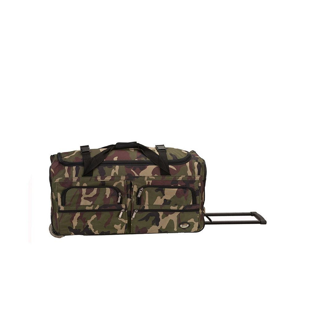 Rockland Voyage 30 in. Rolling Duffle Bag, Camo