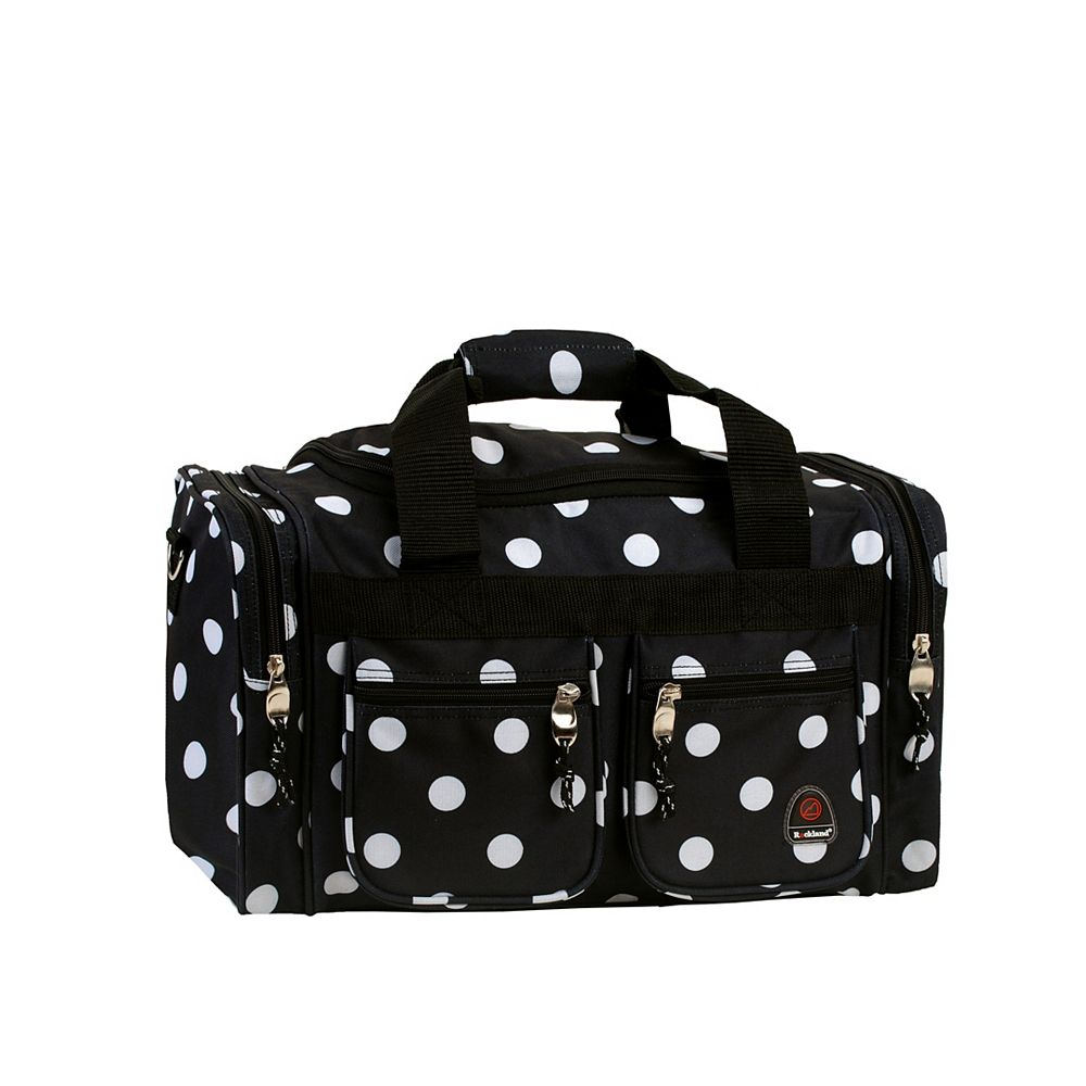 Rockland Freestyle 19 in. Tote Bag, Blackdot