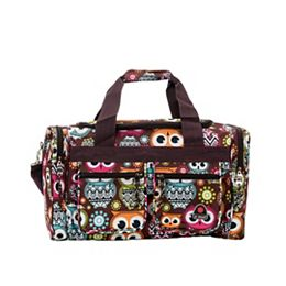 Freestyle 19 in. Tote Bag, Owl