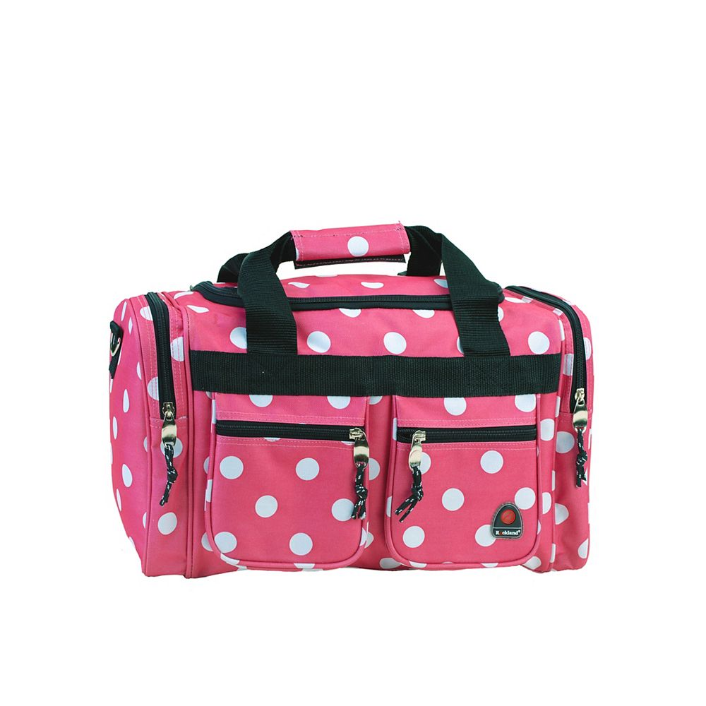 Rockland Freestyle 19 in. Tote Bag, Pinkdot