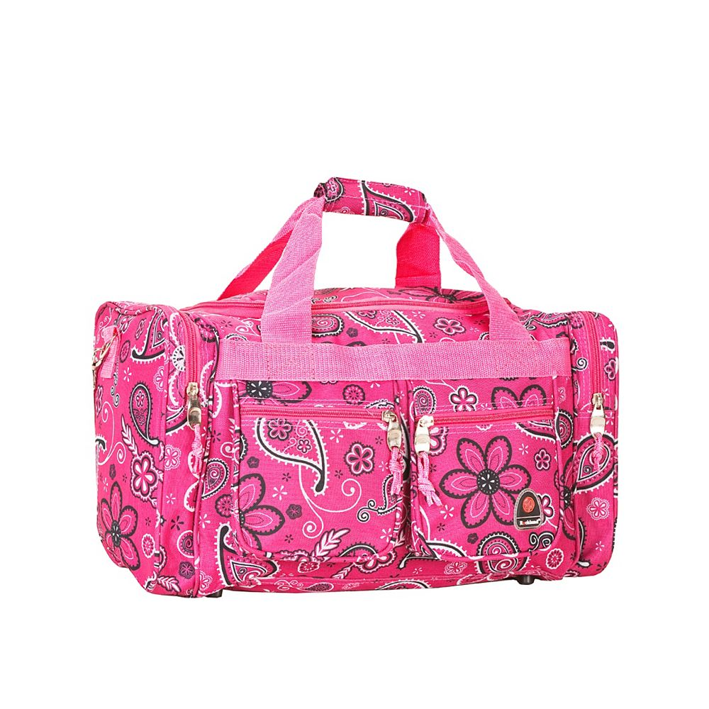 Rockland Freestyle 19 in. Tote Bag, Pinkbandana