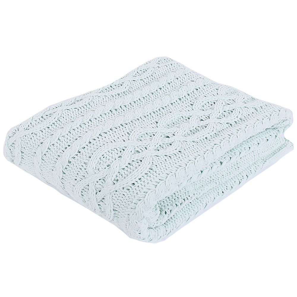 """Battilo Home Knitted Chenille Light Weight soft and Coxy Throw/Blanket, 50""""x60"""""""