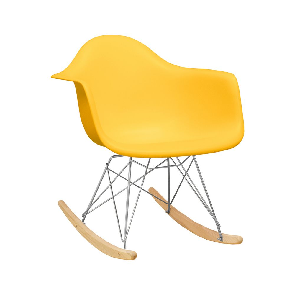 Mod Made Paris Tower Rocker Yellow