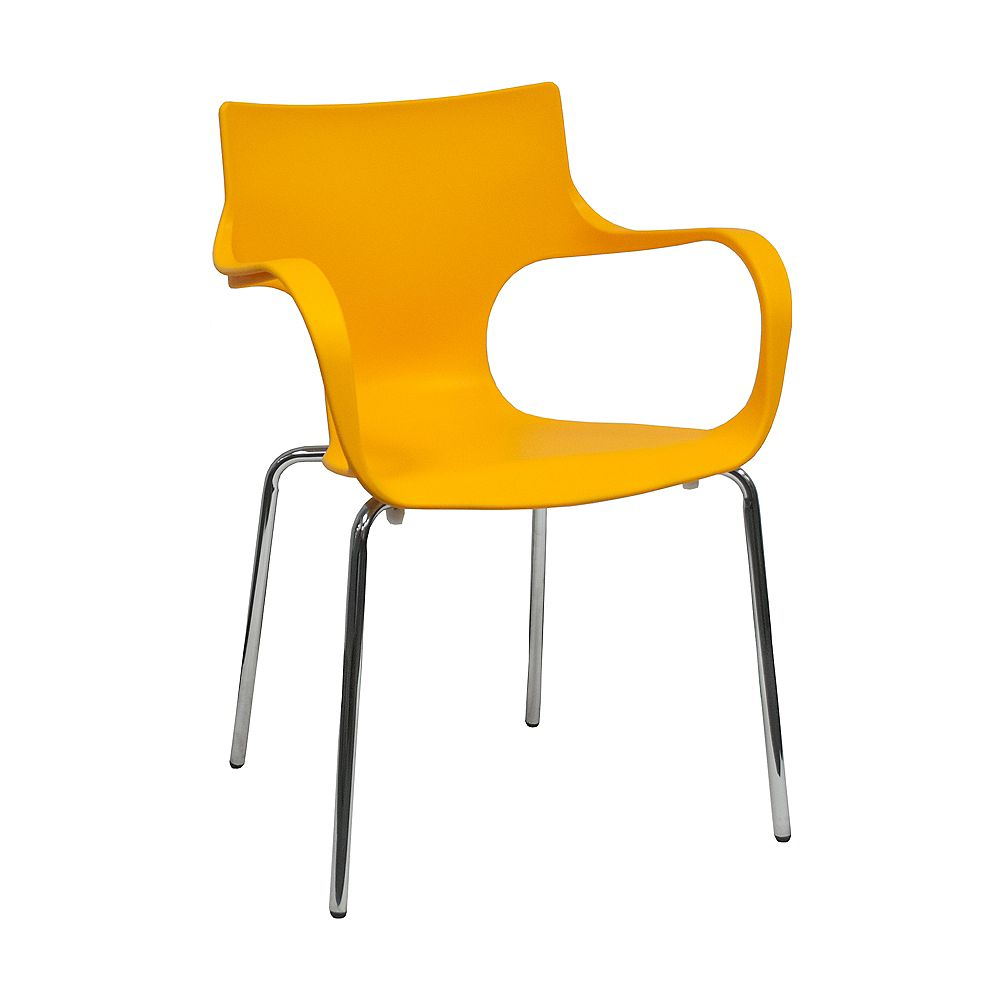 Mod Made Phin Chair 2-Pack Yellow