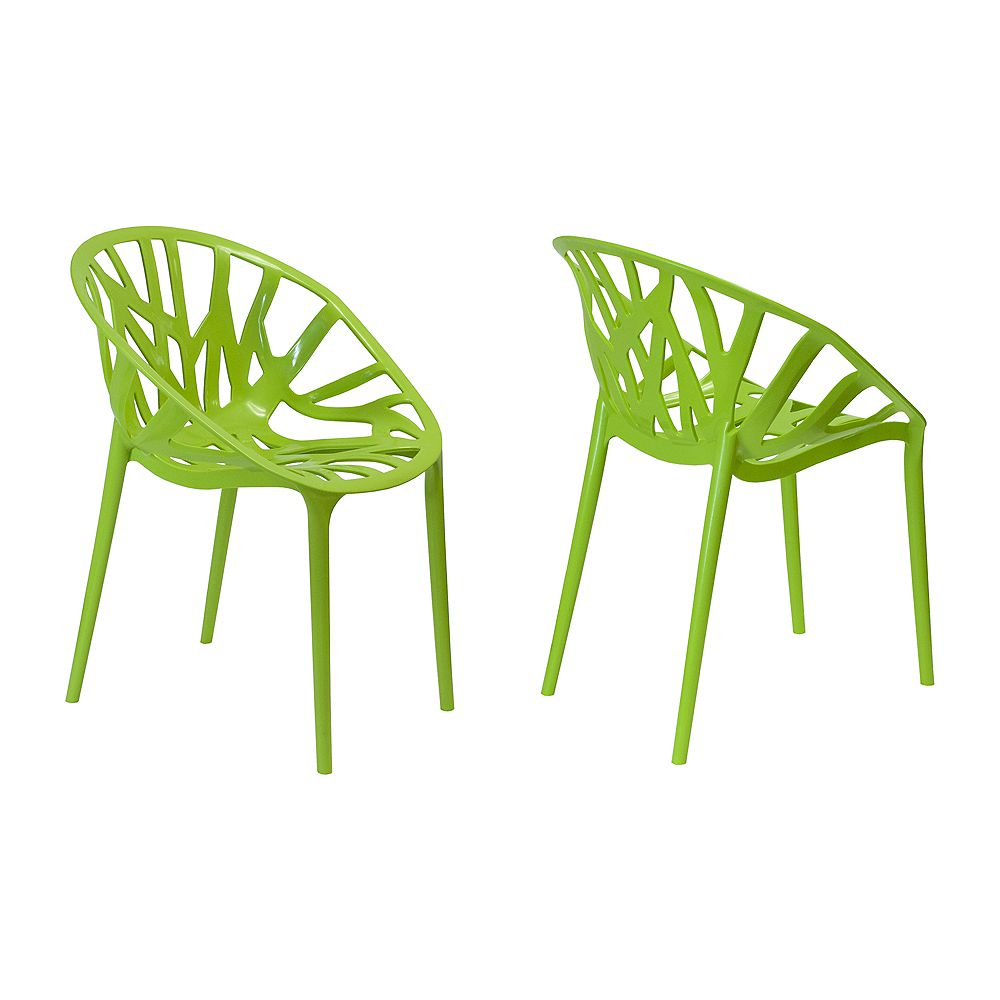 Mod Made Branch Chair 2-Pack Green