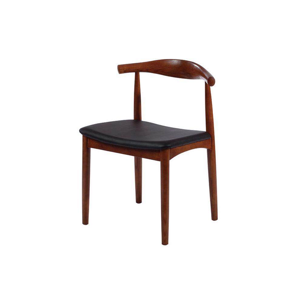 Mod Made Solid Wood Chair Walnut