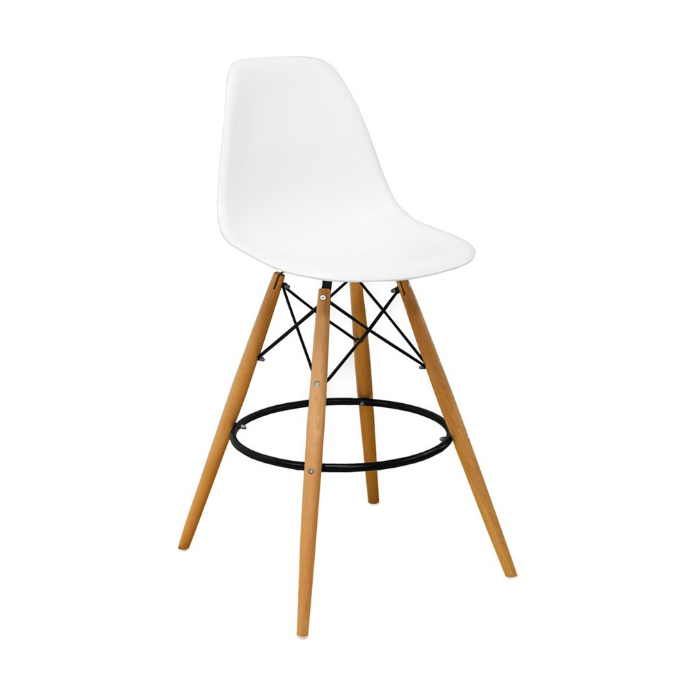 Mod Made Paris Tower Barstool 2-Pack White