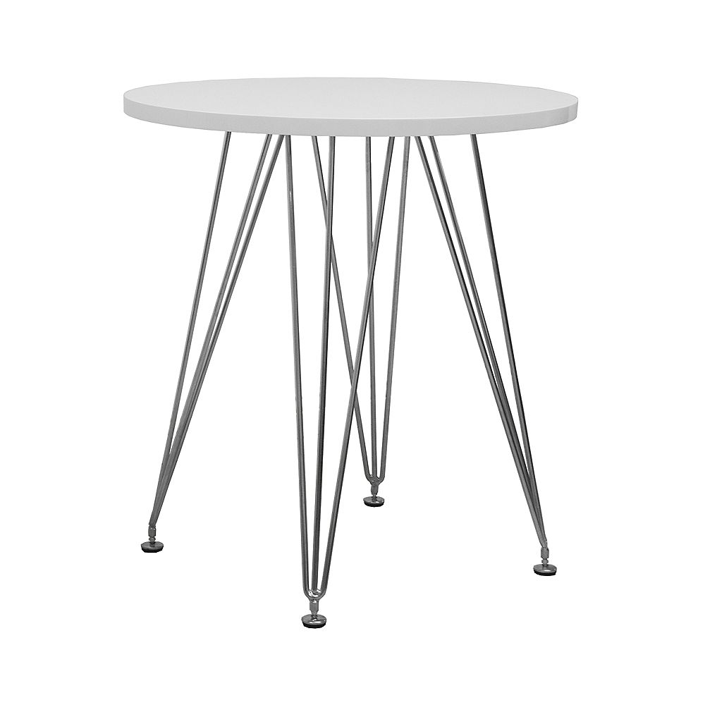 Mod Made Paris Tower Round Table White Top