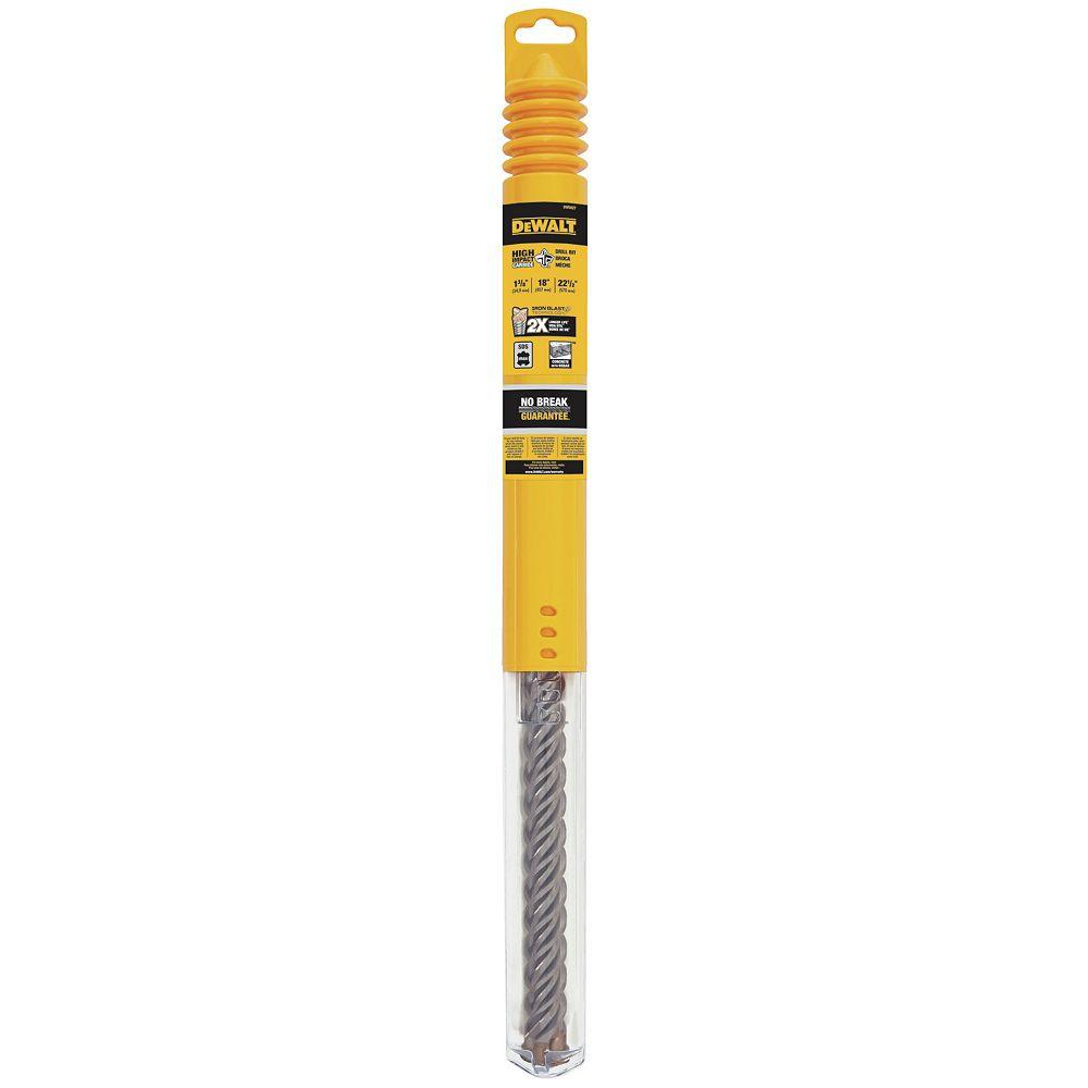 Dewalt 1-3/8-Inch by 18-Inch by 22-1/2-Inch 4-Cutter SDS Max Rotary Hammer Bit (DW5827)