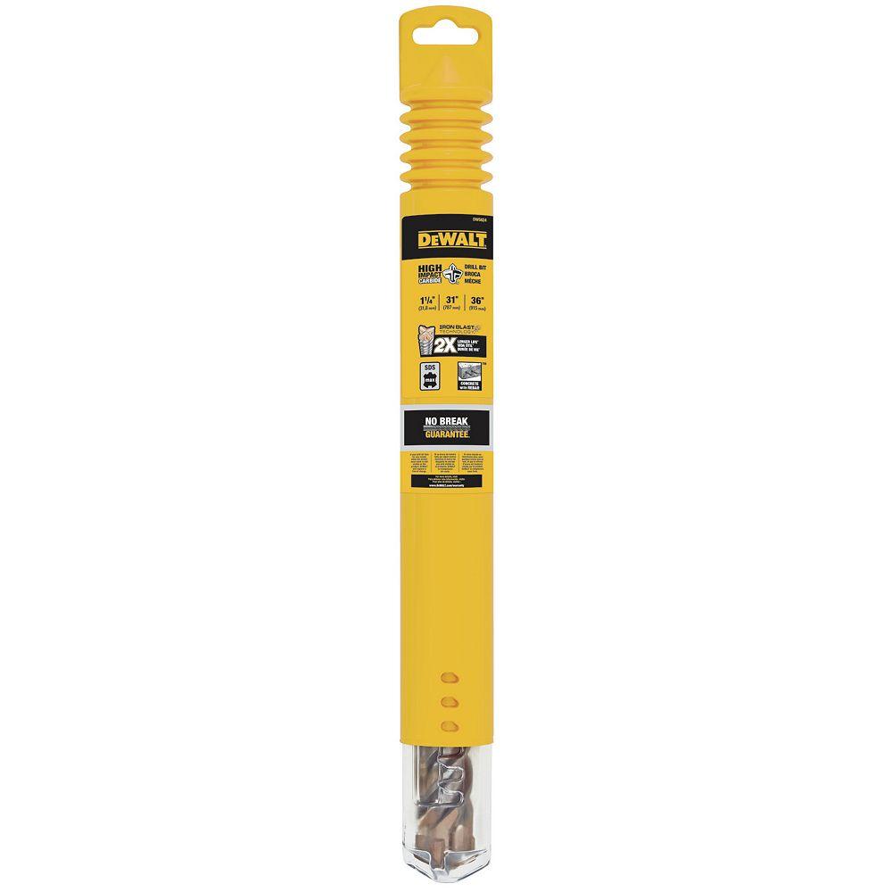 Dewalt 1-1/4-Inch by 10-Inch by 15-Inch 4-Cutter SDS Max Rotary Hammer Bit (DW5824)