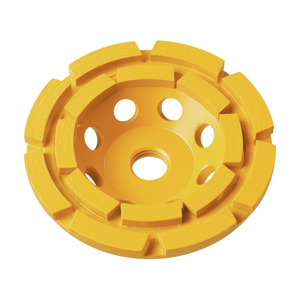 DEWALT 5-Inch XP Double Row Diamond Cup Wheel (DW4777)