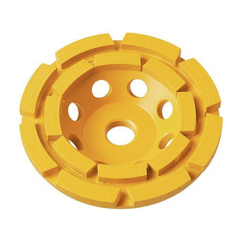 5-Inch XP Double Row Diamond Cup Wheel (DW4777)