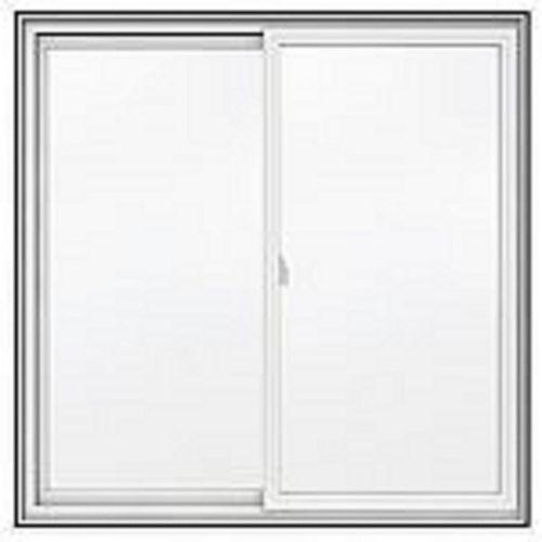 """D.E.C 60""""x48"""", Séries 5000 Coulissant double PVC blanc, Low-E, Argon, 1/2 moustiquaire"""