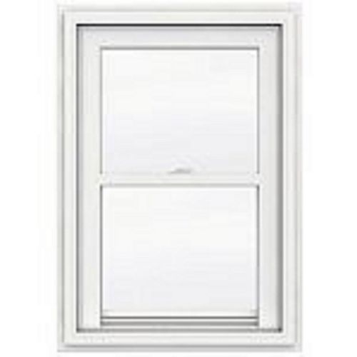 "30""x60"" frame, 5000 Series White Vinyl Single Hung Window, Low-e, Argon, Screen"